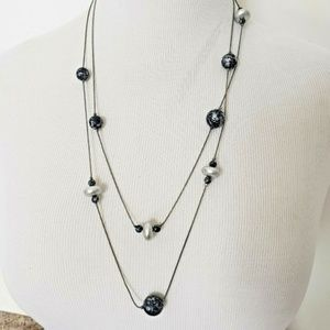 Jewelry - 5/$25 | Layering Necklace Blue Silver Beads